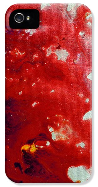 Dexter Prints iPhone 5 Cases - Tigridia pavonia Triptych iPhone 5 Case by Holly Anderson