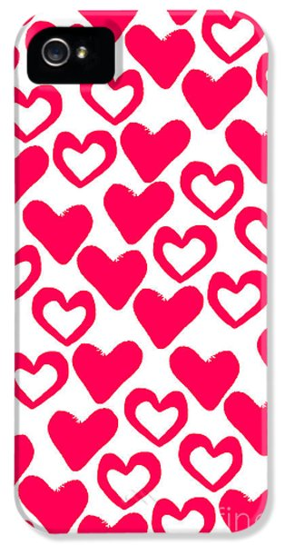Meeting iPhone 5 Cases - Valentines Day Card iPhone 5 Case by Louisa Knight