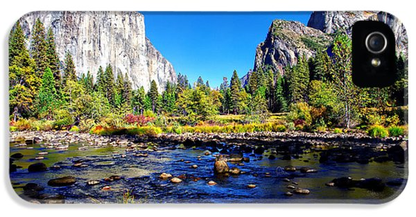 Valley View Yosemite National Park IPhone 5 / 5s Case by Scott McGuire
