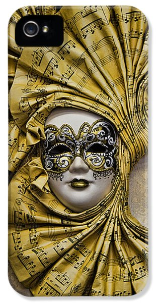 Venetian Carnaval Mask IPhone 5 / 5s Case by David Smith