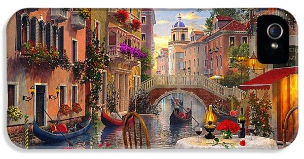 Coloured iPhone 5 Cases - Venice Al Fresco iPhone 5 Case by Dominic Davison