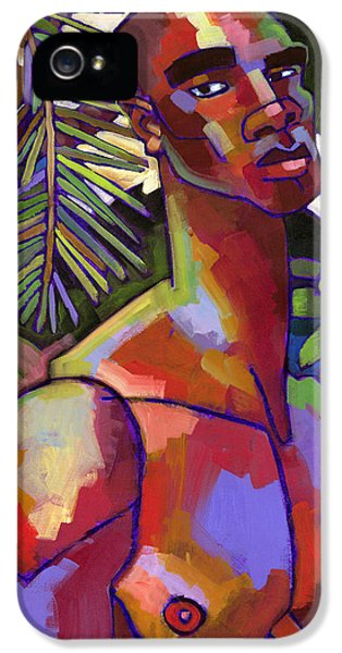 Figure iPhone 5 Cases - Victor in the Forest iPhone 5 Case by Douglas Simonson