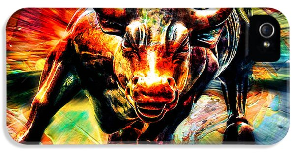Wall Street Bull IPhone 5 / 5s Case by Marvin Blaine