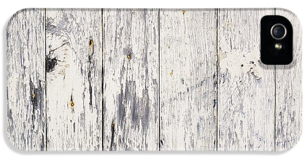 Dirty iPhone 5 Cases - Weathered Paint on Wood iPhone 5 Case by Tim Hester