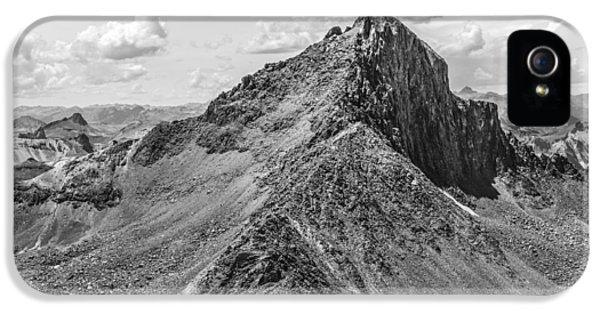 Asymmetrical iPhone 5 Cases - Wetterhorn Peak iPhone 5 Case by Aaron Spong