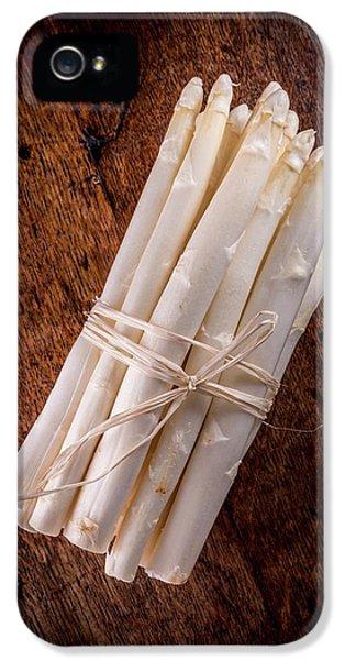 White Asparagus IPhone 5 / 5s Case by Aberration Films Ltd