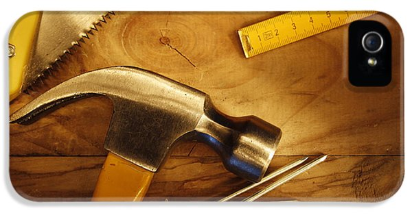 Work Tool iPhone 5 Cases - Work tools iPhone 5 Case by Les Cunliffe