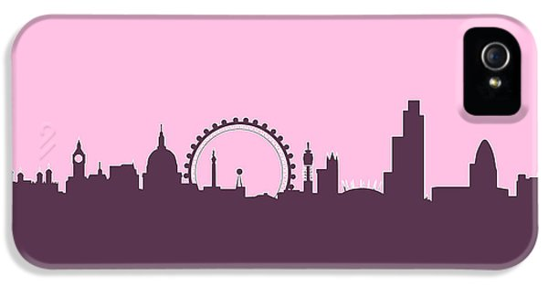 London England Skyline IPhone 5 / 5s Case by Michael Tompsett