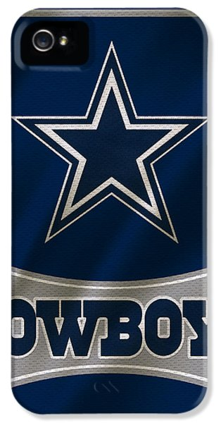 Balls iPhone 5 Cases - Dallas Cowboys Uniform iPhone 5 Case by Joe Hamilton