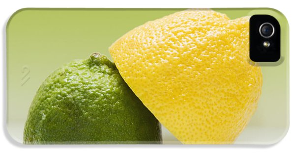 Colour Image iPhone 5 Cases - 12 Organic Lemon And 12 Lime iPhone 5 Case by Marlene Ford