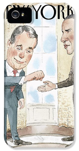Untitled IPhone 5 / 5s Case by Barry Blitt
