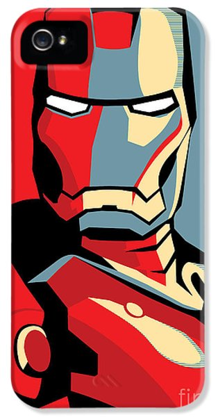 Power iPhone 5 Cases - Iron Man iPhone 5 Case by Caio Caldas