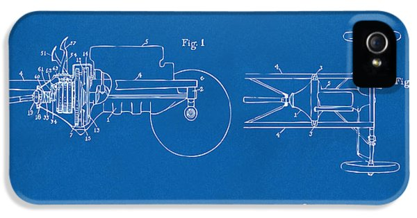 Transmission iPhone 5 Cases - 1911 Henry Ford Transmission Patent Blueprint iPhone 5 Case by Nikki Marie Smith