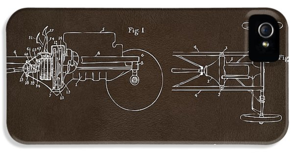 Transmission iPhone 5 Cases - 1911 Henry Ford Transmission Patent Espresso iPhone 5 Case by Nikki Marie Smith
