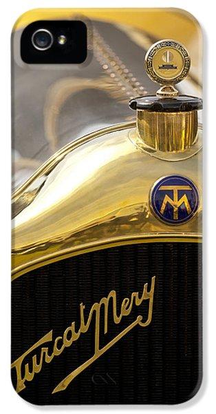Mj iPhone 5 Cases - 1913 Turcat-Mery MJ Boulogne Torpedo Hood Ornament and Emblem iPhone 5 Case by Jill Reger