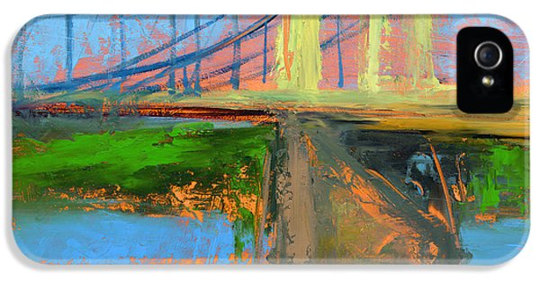 Cityscape iPhone 5 Cases - RCNpaintings.com iPhone 5 Case by Chris N Rohrbach