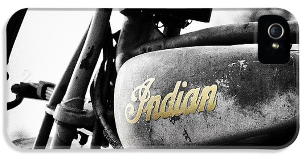 Restoration iPhone 5 Cases - 1928 Indian 101 Scout iPhone 5 Case by Tim Gainey