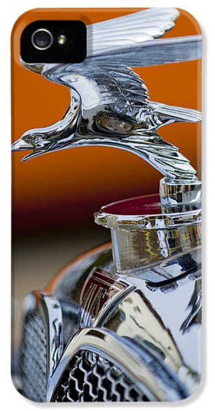 20 iPhone 5 Cases - 1932 Alvis Hood Ornament 2 iPhone 5 Case by Jill Reger