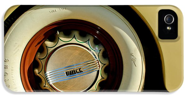 1936 iPhone 5 Cases - 1936 Buick 40 Series Wheel Emblem iPhone 5 Case by Jill Reger