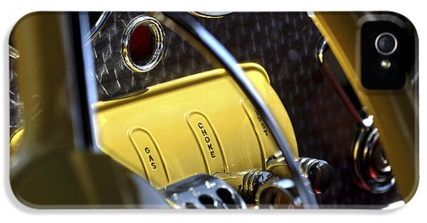 Control iPhone 5 Cases - 1937 Cord 812 Phaeton Controls iPhone 5 Case by Jill Reger