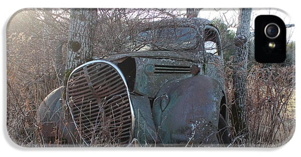 1929 Roadster iPhone 5 Cases - 1938-39 Ford Truck 3 iPhone 5 Case by Joseph Marquis