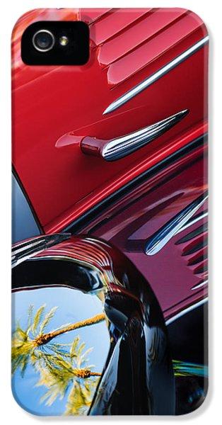 Bugatti Classic Car iPhone 5 Cases - 1939 Bugatti T57C Galibier iPhone 5 Case by Jill Reger