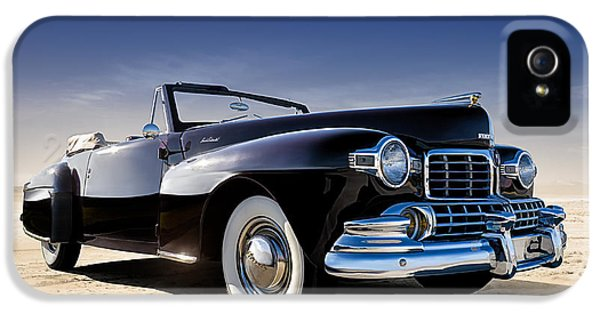 Continental iPhone 5 Cases - 1947 Lincoln Continental iPhone 5 Case by Douglas Pittman