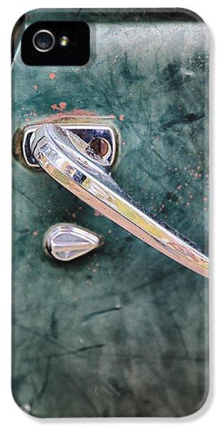 1950 Classic Chevy Pickup Door Handle IPhone 5 / 5s Case by Adam Romanowicz