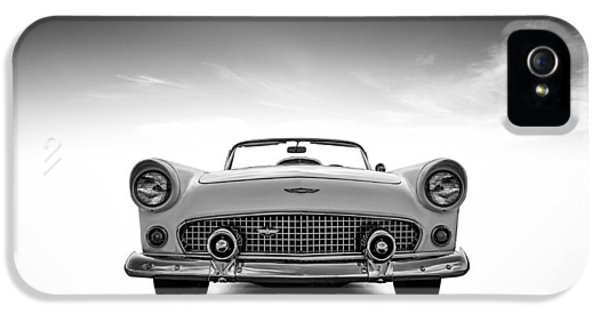 Roadsters iPhone 5 Cases - 1956 Thunderbird iPhone 5 Case by Douglas Pittman