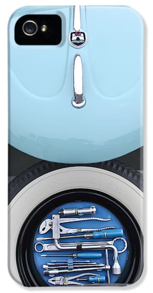 Kits iPhone 5 Cases - 1962 Volkswagen VW Bug Tool Kit iPhone 5 Case by Jill Reger