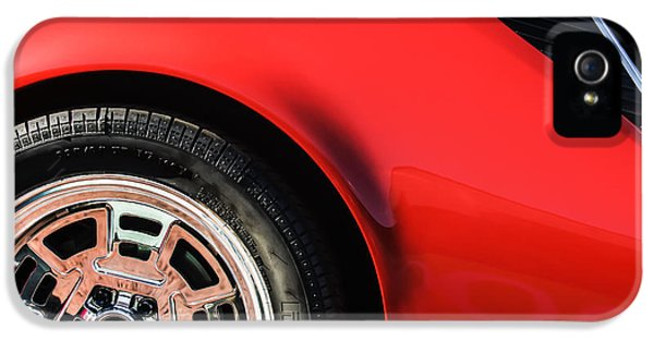 1972 iPhone 5 Cases - 1972 DeTomaso Pantera Wheel iPhone 5 Case by Jill Reger