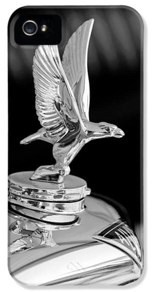 20 iPhone 5 Cases - 1932 Alvis 6 Speed 20 SA 4-Door Tourer Hood Ornament iPhone 5 Case by Jill Reger