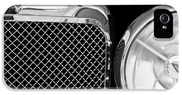 20 iPhone 5 Cases - 1932 Alvis-6 Speed 20 SA Grille Emblem iPhone 5 Case by Jill Reger