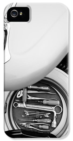 Kits iPhone 5 Cases - 1956 Volkswagen VW Bug Tool Kit iPhone 5 Case by Jill Reger