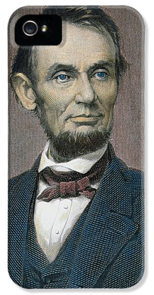 President Of The United States iPhone 5 Cases - Abraham Lincoln iPhone 5 Case by American School