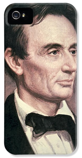 President Of The United States iPhone 5 Cases - Abraham Lincoln iPhone 5 Case by George Peter Alexander Healy