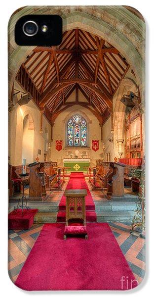 Organ iPhone 5 Cases - Ancient Parish Church iPhone 5 Case by Adrian Evans