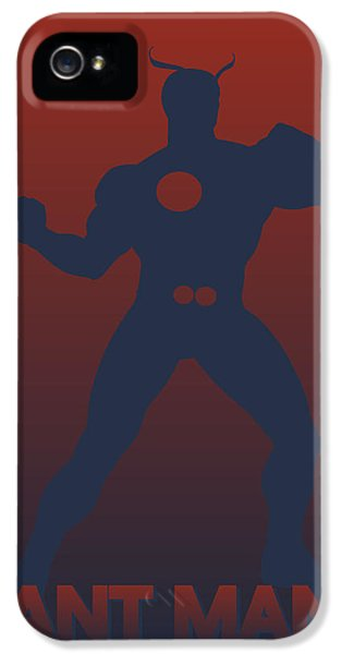 Ants iPhone 5 Cases - Ant Man iPhone 5 Case by Joe Hamilton