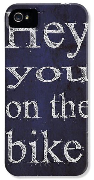 Back To The Future.hey Dad George Hey You On The Bike IPhone 5 / 5s Case by Pablo Franchi