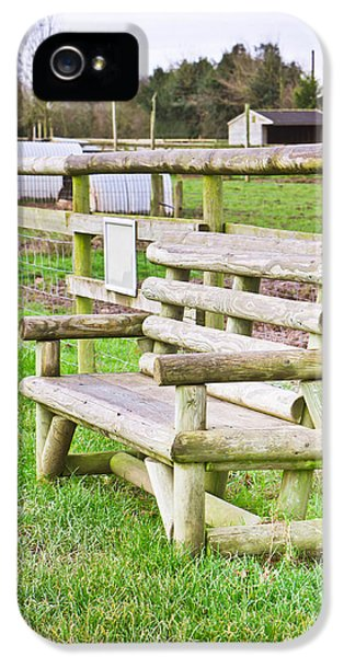 Environment Design iPhone 5 Cases - Bench iPhone 5 Case by Tom Gowanlock