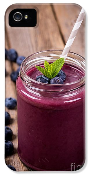 Blueberry Smoothie IPhone 5 / 5s Case by Jane Rix