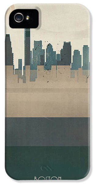 Boston City Massachusetts IPhone 5 / 5s Case by Bri B
