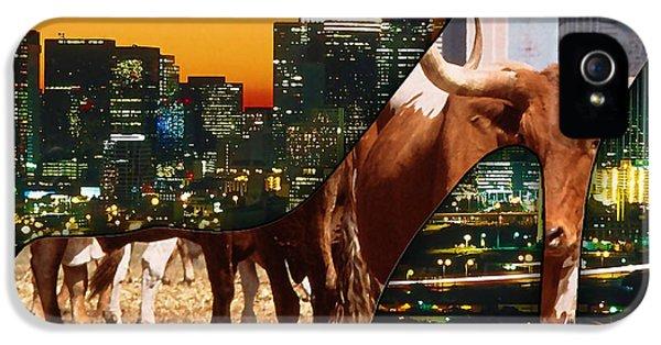 Dallas Texas Skyline IPhone 5 / 5s Case by Marvin Blaine