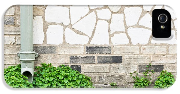 Brick iPhone 5 Cases - Drainpipe iPhone 5 Case by Tom Gowanlock