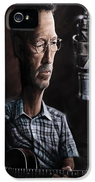 Eric Clapton IPhone 5 / 5s Case by Andre Koekemoer