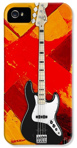Fender Bass Guitar Collection IPhone 5 / 5s Case by Marvin Blaine