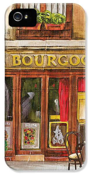 Ma Bourgogne iPhone 5 Cases - French Storefront 1 iPhone 5 Case by Debbie DeWitt