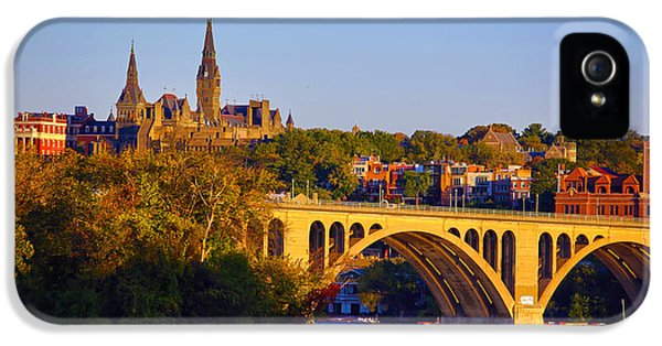 Georgetown IPhone 5 / 5s Case by Mitch Cat