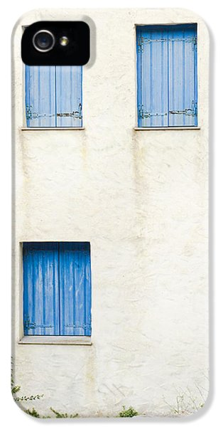 Asymmetrical iPhone 5 Cases - Greek house iPhone 5 Case by Tom Gowanlock