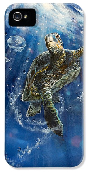 Conservation iPhone 5 Cases - Honus Dance iPhone 5 Case by Marco Antonio Aguilar